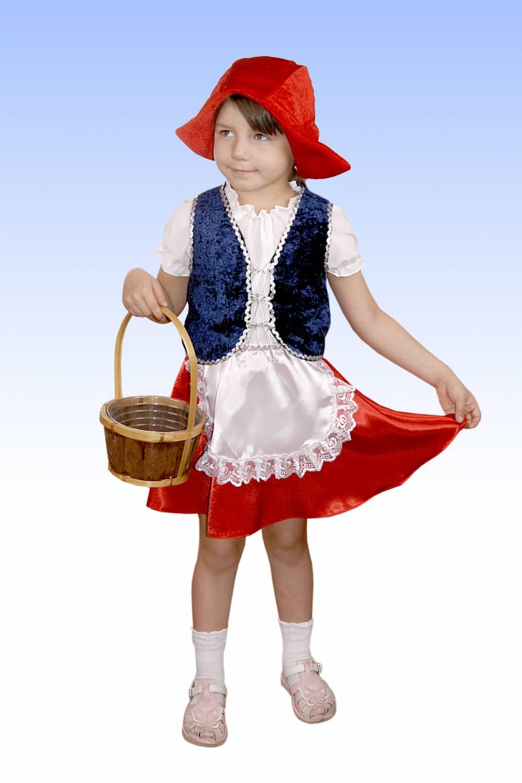 Как сшить костюм красной шапочки